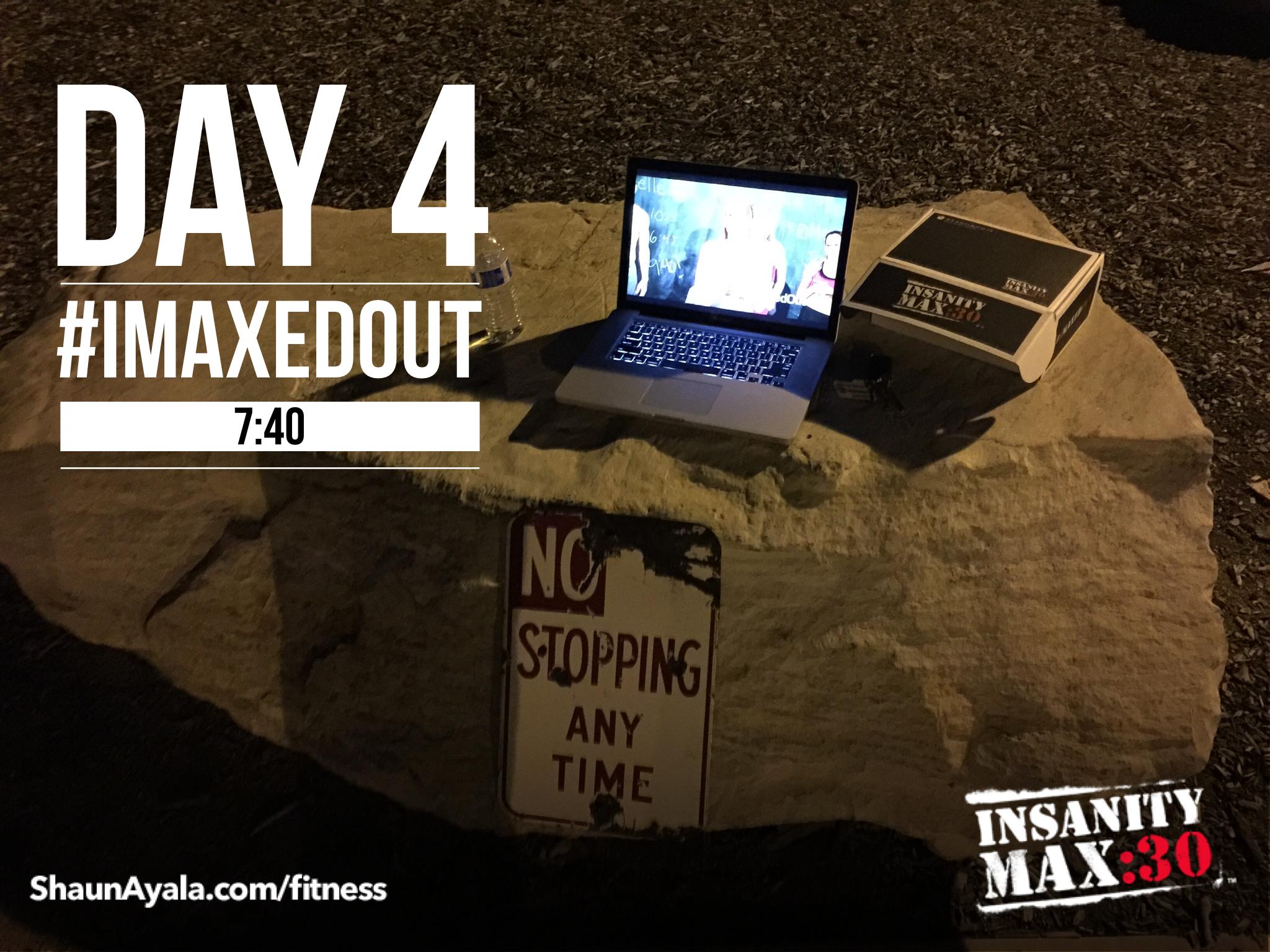 Insanity Max 30 – Day 4 Tabata Power - Shaun Ayala